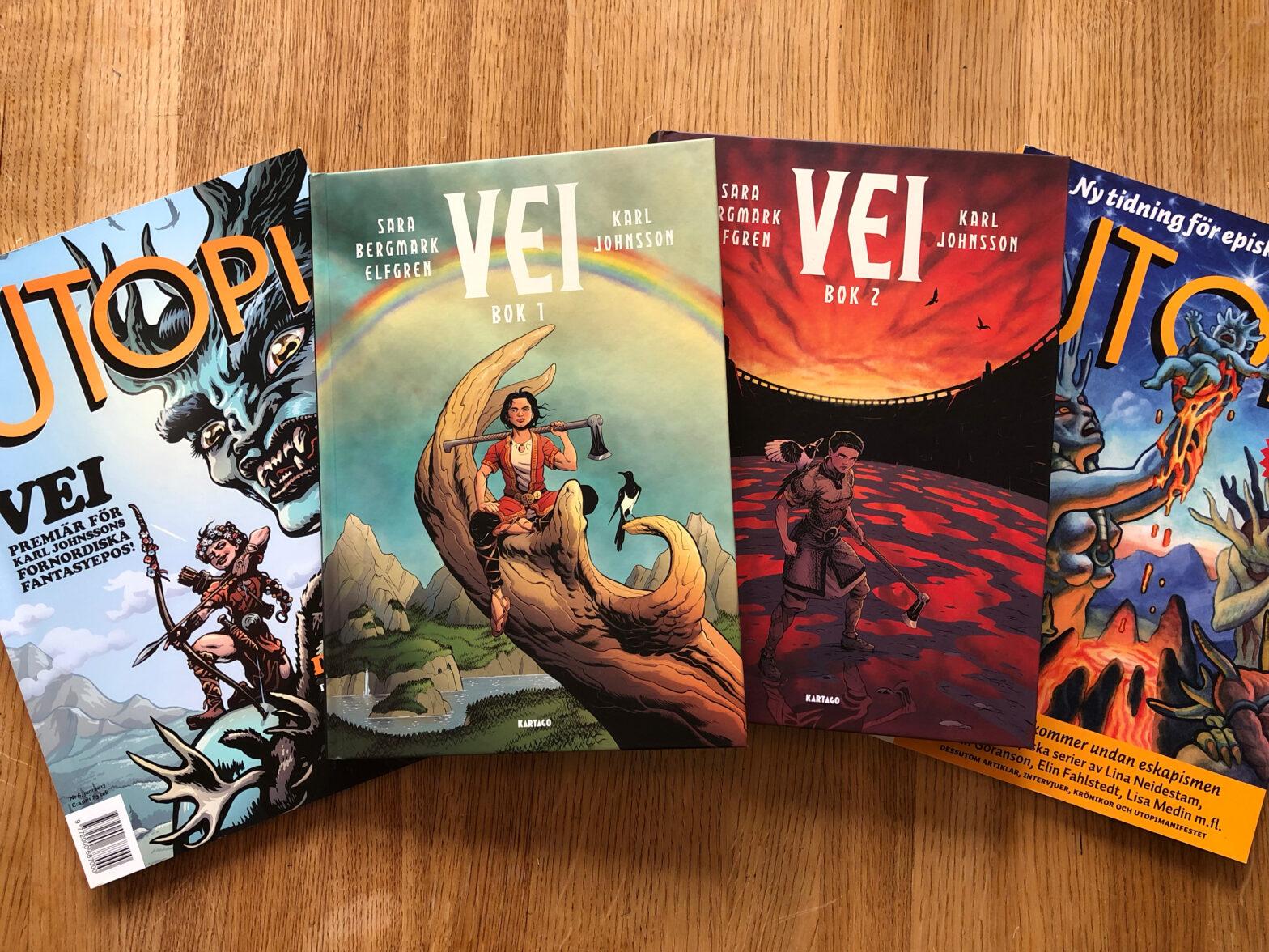 Efter sju år finns äntligen hela Vei-berättelsen samlad.