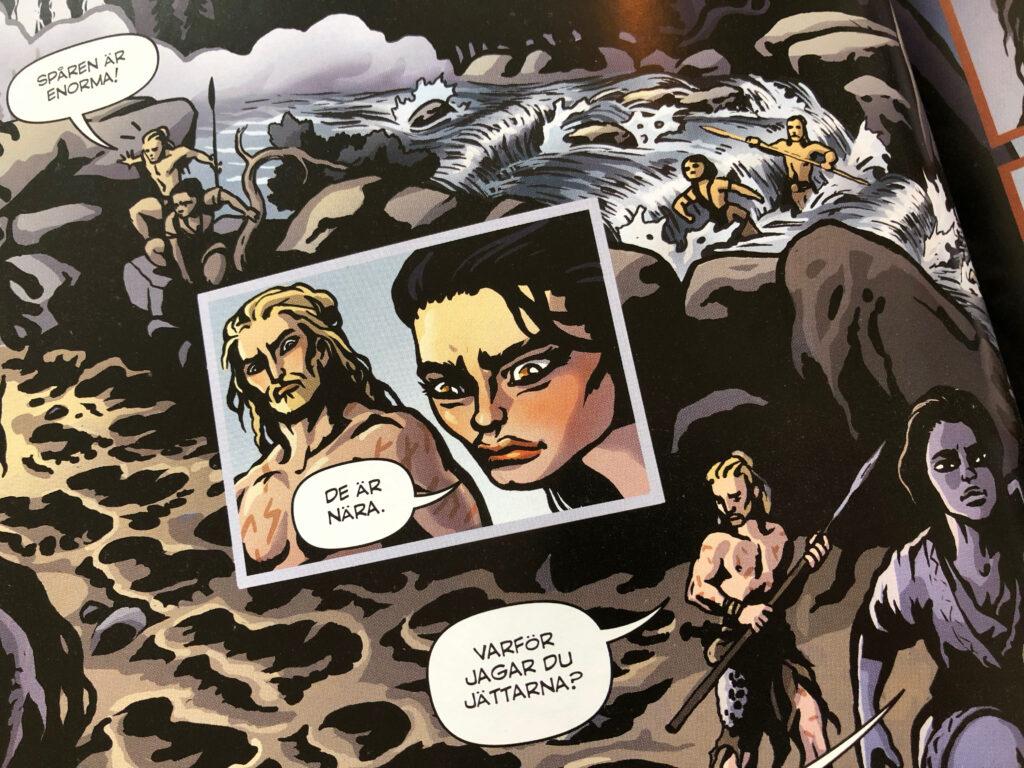 Från första kapitlet av Vei som publicerades i Utopi 2012.