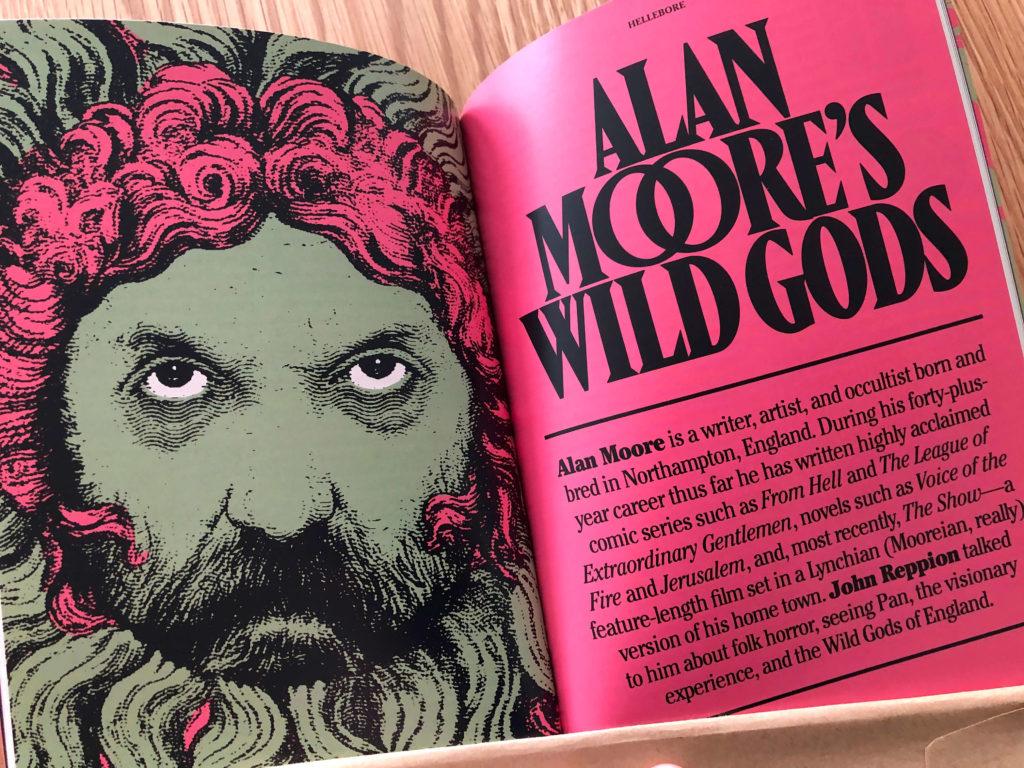 Alan Moore's Wild Gods i Hellebore nummer 2.