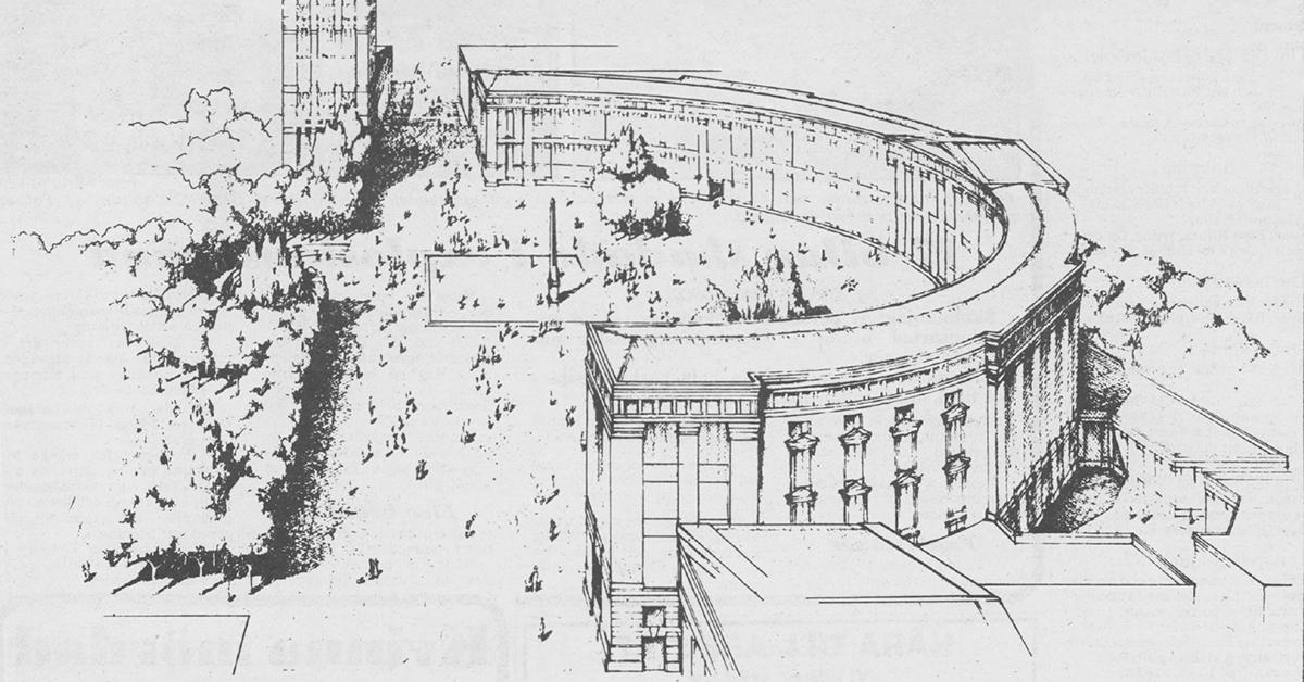 Bofils båge som den presenterades i Expressen den 7 februari 1985.