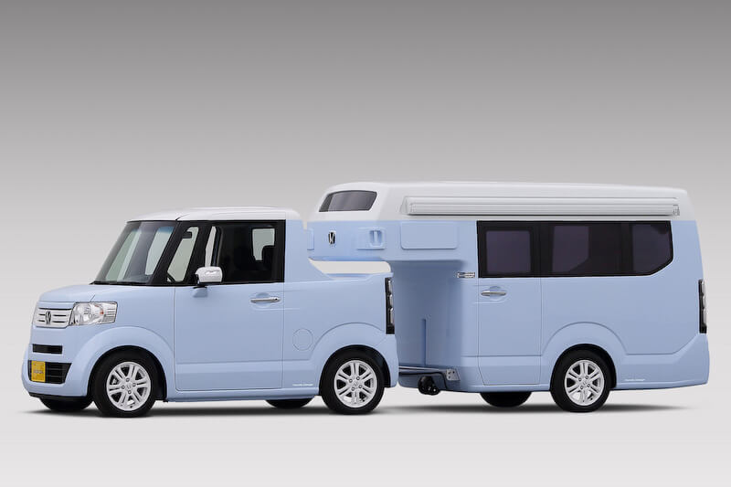 Honda N-Truck + N-Camp. Foto: Press